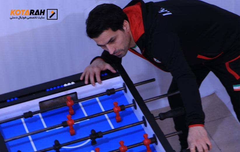 علی-اصغر-نعیمی-فوتبال دستی